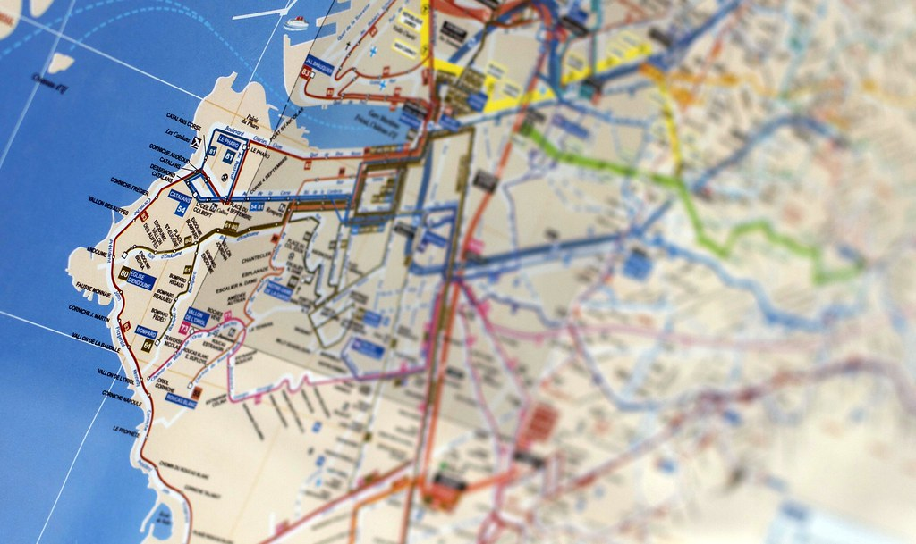 carte transports Marseille